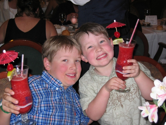 drinks with kids